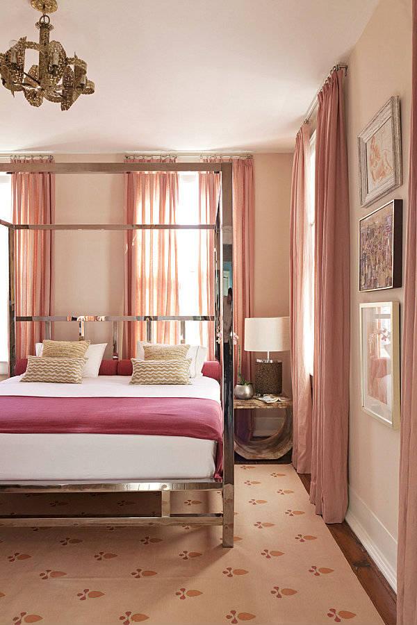 спальня в женском стиле
