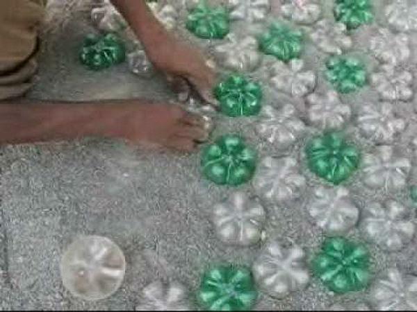 Изделия из пробок из пластиковых бутылок