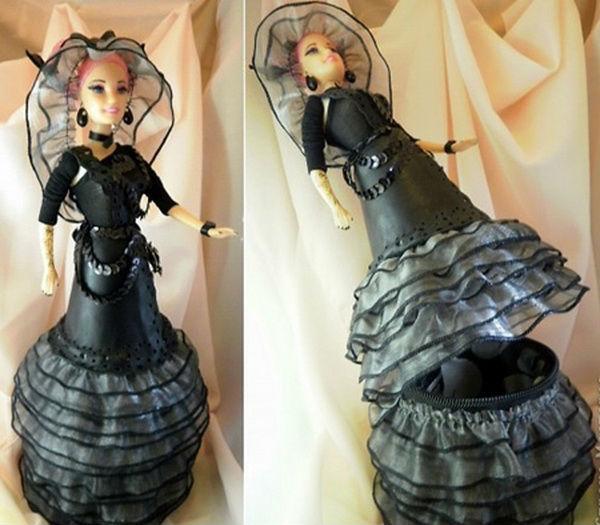 Кукла из пластиковых бутылок своими руками мастер класс
