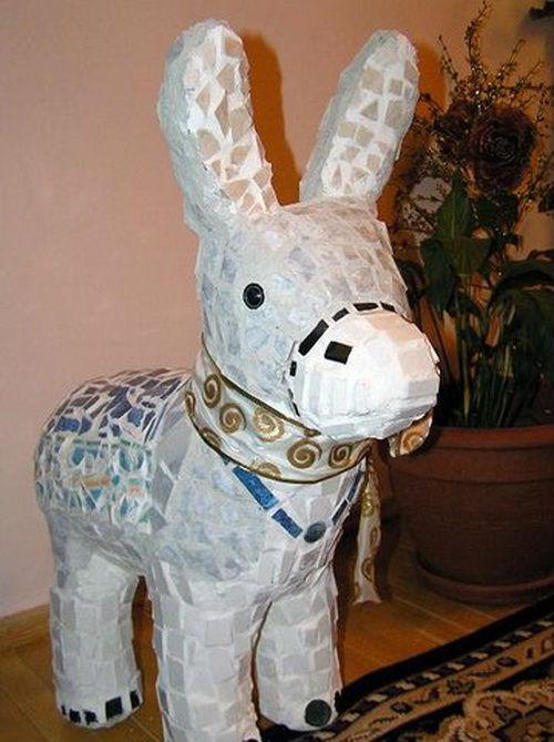 лошадь из пластиковых бутылок своими руками пошаговая инструкция - фото 11