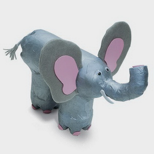 Слоник из лейки своими руками
