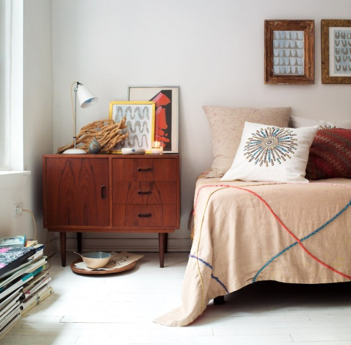 Текстиль в стиле 70-х