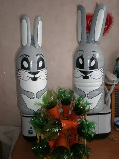 поделки из пластиковых бутылок своими руками фото инструкция для детей - фото 11