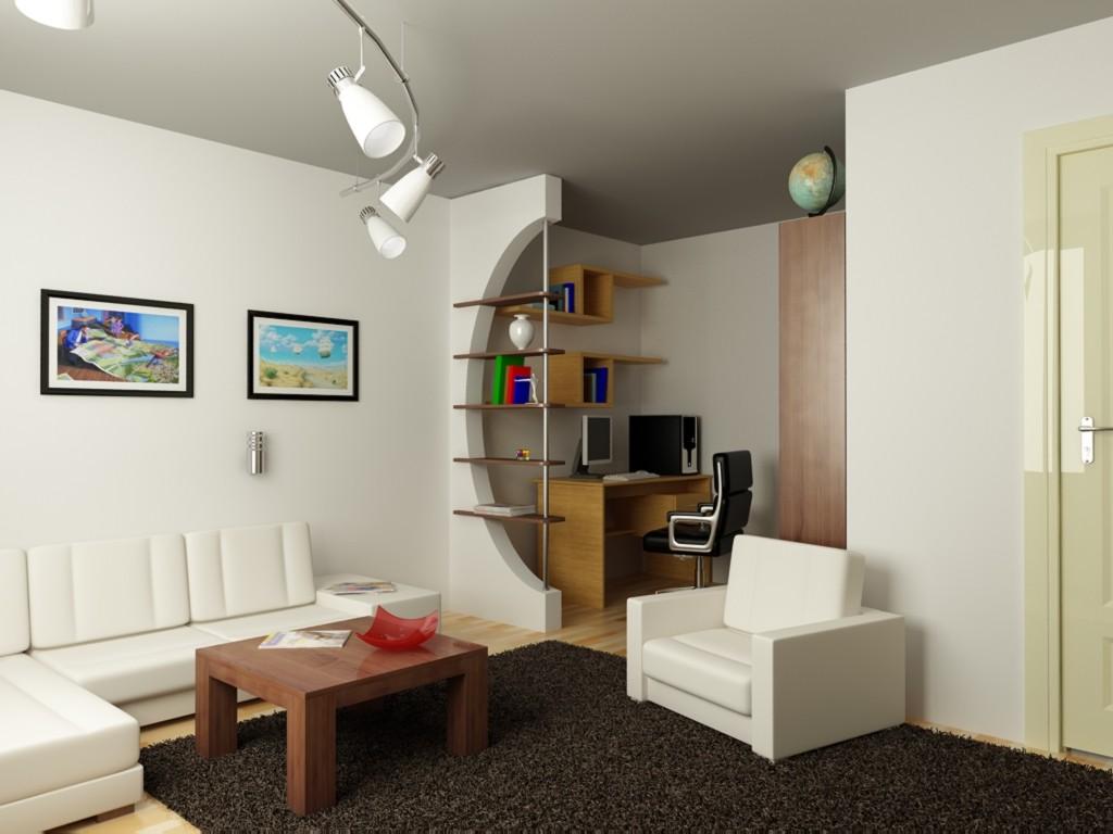зонирование маленькой квартиры