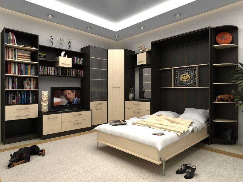 Кровать, которую можно спрятать в шкаф