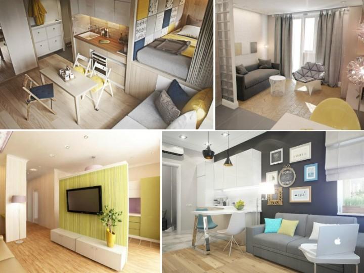 Делаем маленькую квартиру больше