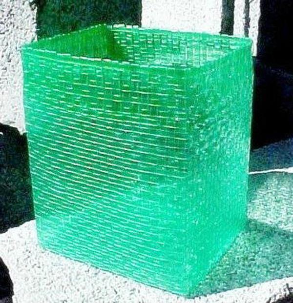 Лев из пластиковых бутылок 4