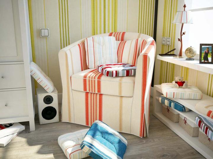 Кресло для чтения (не очень удобное, ИМХО)