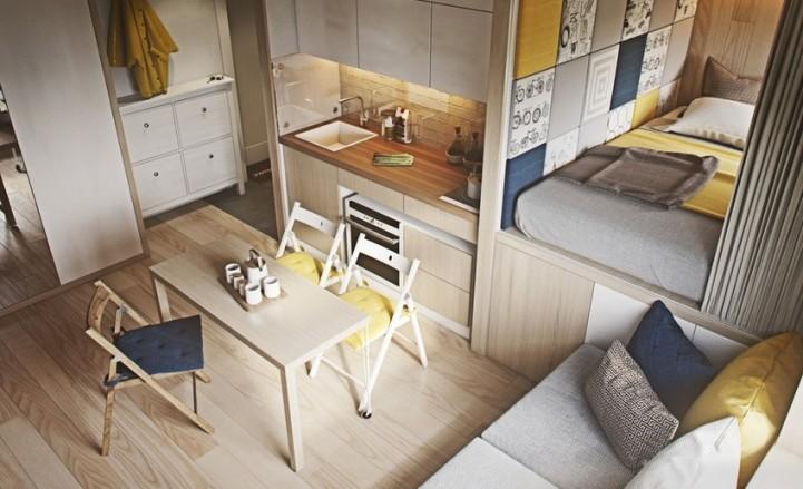 Подходящая мебель для маленькой квартиры