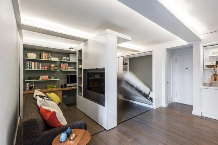 Мебель-трансформер в малогабаритной квартире