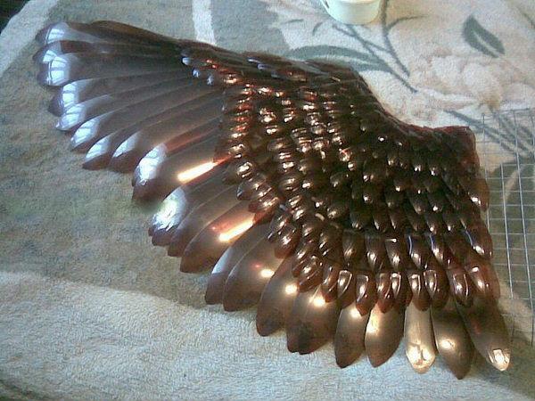 Орел поделка из пластиковых бутылок 80