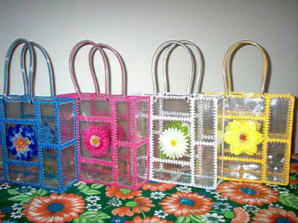 сумка из пластиковых бутылок