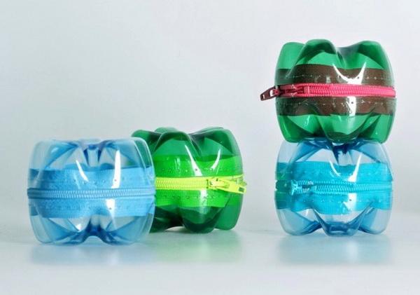 Как сделать сумку из пластиковых бутылок мастер