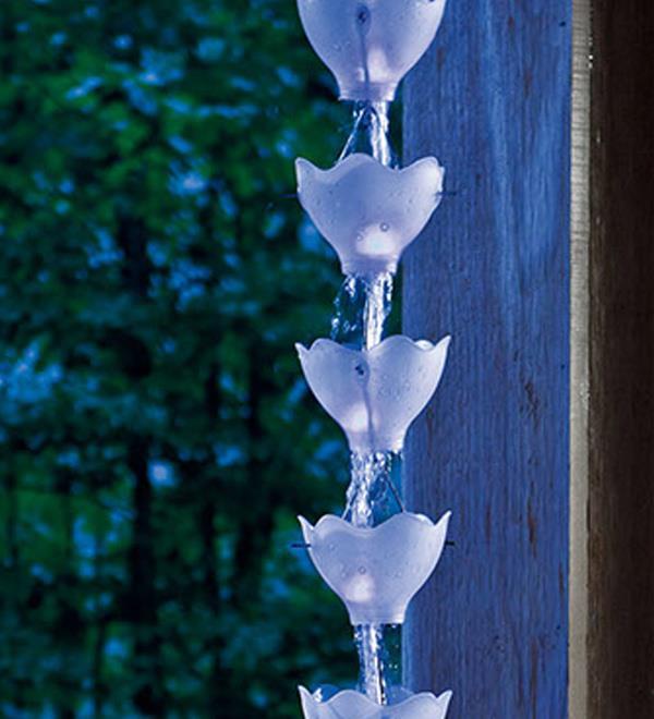 Водосток из пластиковых бутылок своими руками видео