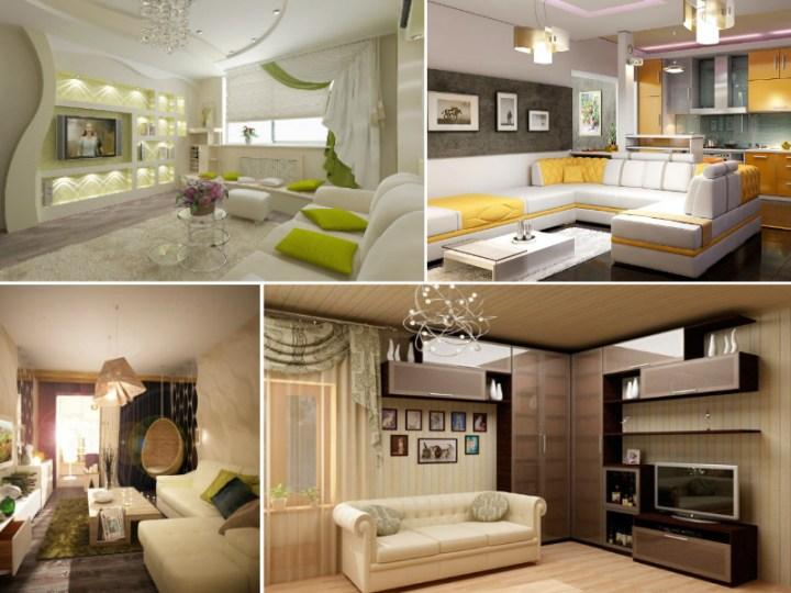 Идеи для интерьера современной гостиной