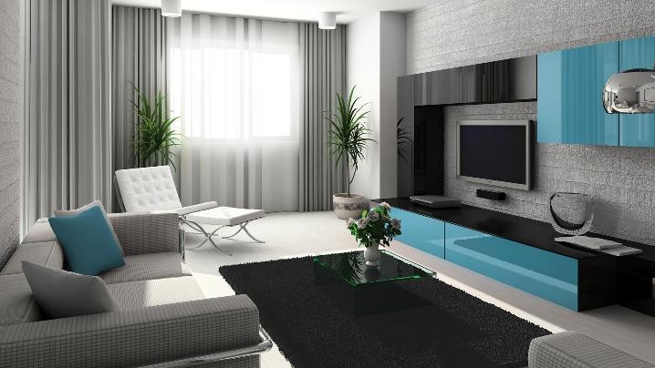 стильная и современная мебель для гостиной
