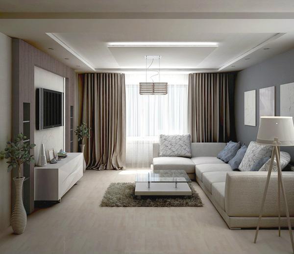 Как должна выглядеть гостиная в современном стиле?