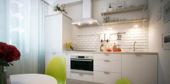 Чем заполнить пустой угол на кухне
