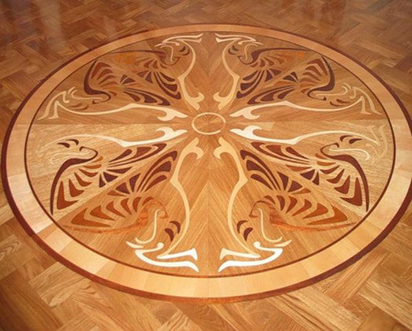 Ламинат с орнаментом