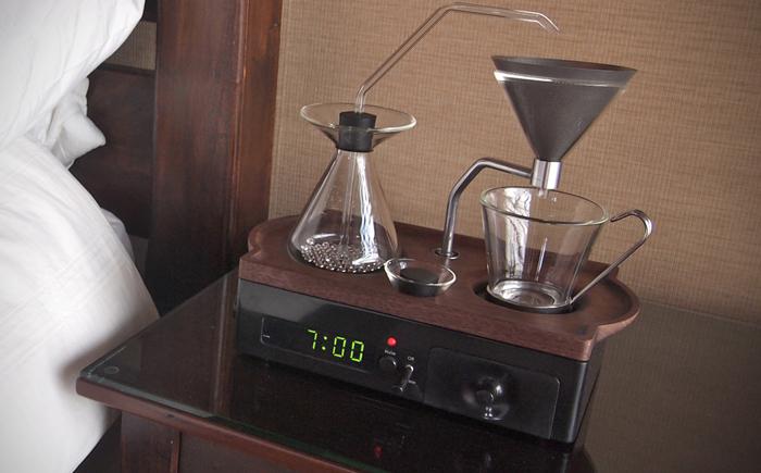 кофеварка с будильником