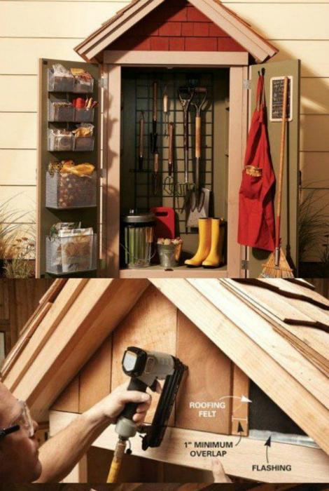 дом для инструментов своими руками