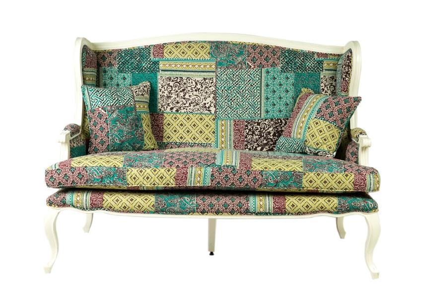 диван в стиле кантри