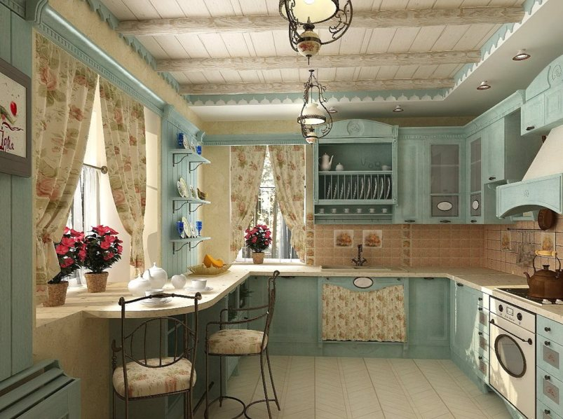Интерьеры домов франции