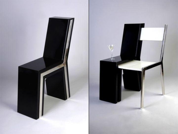 Стол со спрятанным внутри стулом