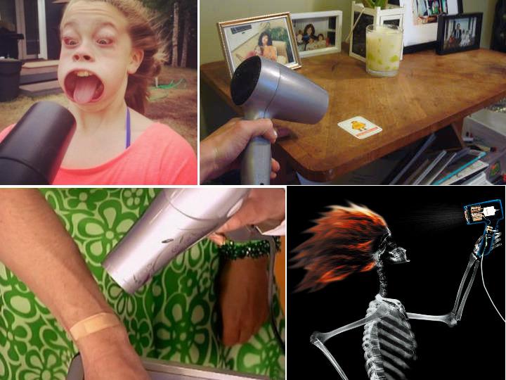 8 нестандартных способов использования фена