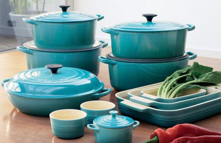 Бирюзовая посуда