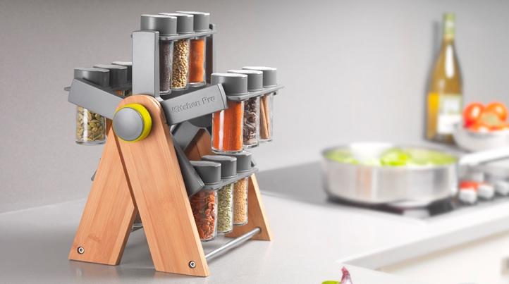 Система хранения специй на кухне