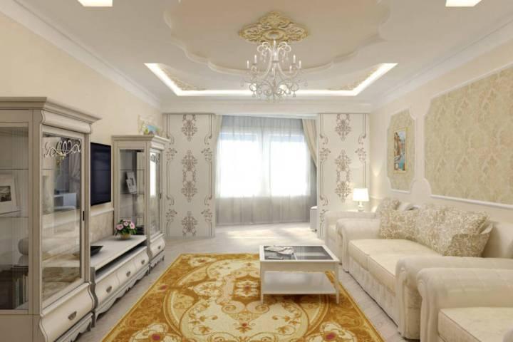 гостиная дизайн в классическом стиле фото