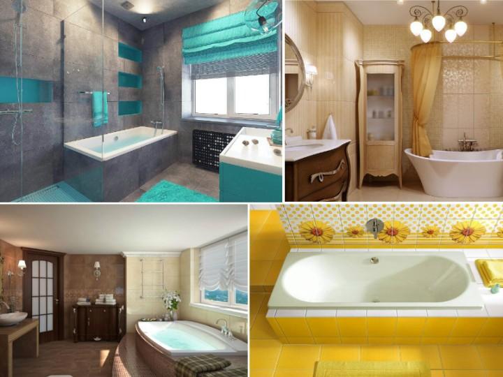 Выбираем цвет для плитки в ванную комнату