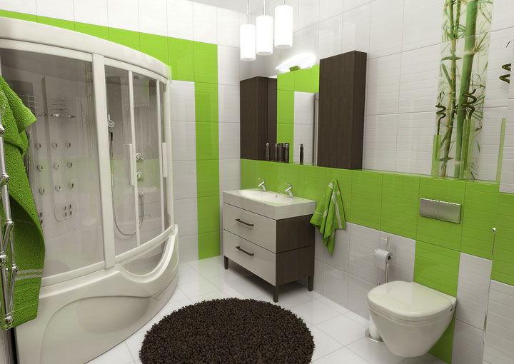 Как выбрать цвет плитки для ванной комнаты