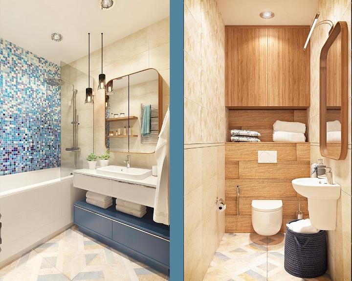 Ванная комната и туалет в доме