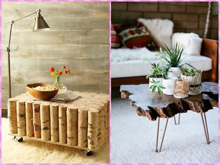 Два дизайнерских столика