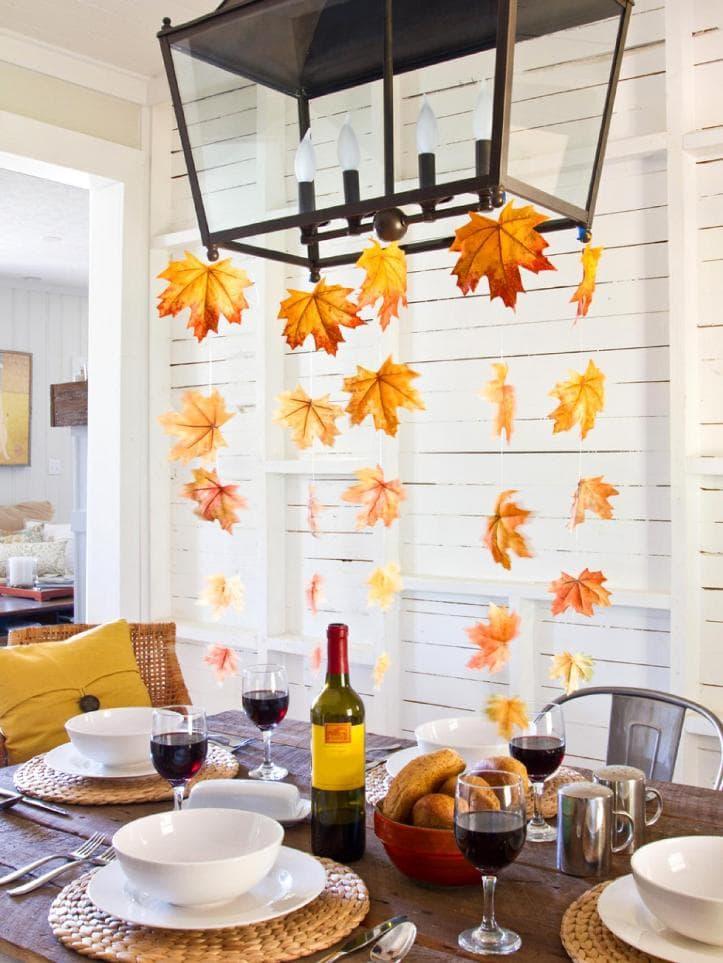 Осенний декор помещений