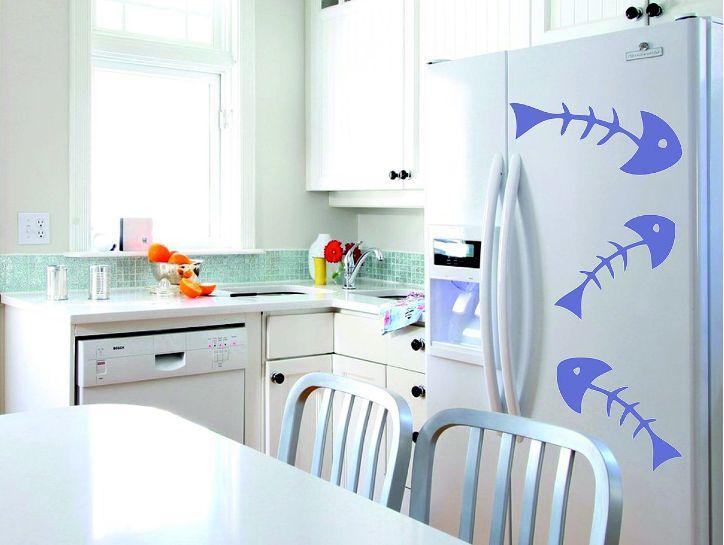 Виниловые наклейки на кухне