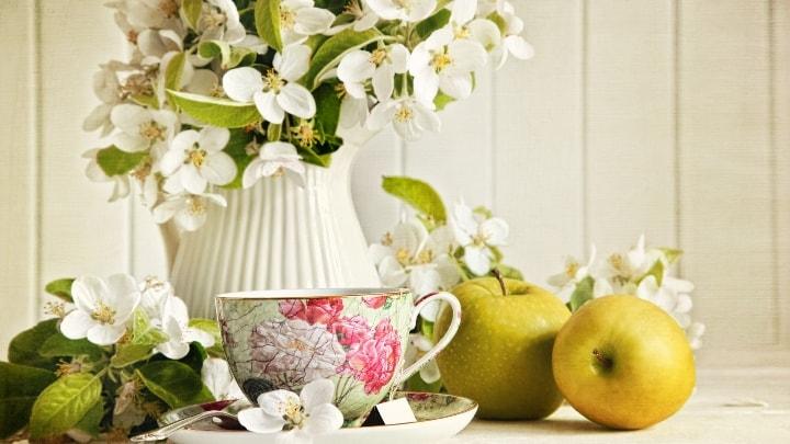 Декор фруктами