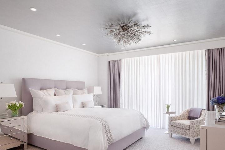 Нежный цвет спальни