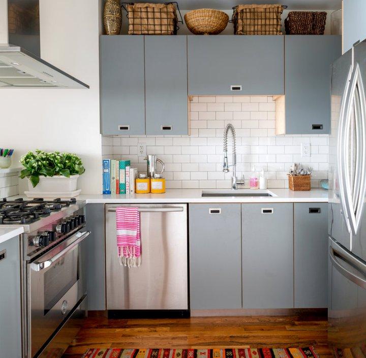 Серая кухня: дизайн интерьера, цветовые сочетания