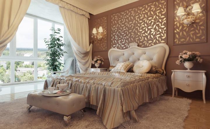 Роскошная спальня в стиле шато: советы по обустройству интерьера