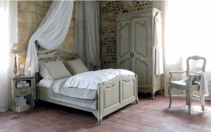 Цвет спальни в с стиле шато