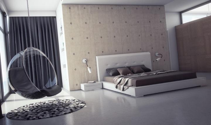 Кровать с низким спальным местом