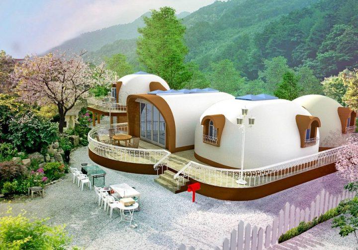 Японские дома из пенопласта: под ключ за 2 недели, срок службы — 300 лет!