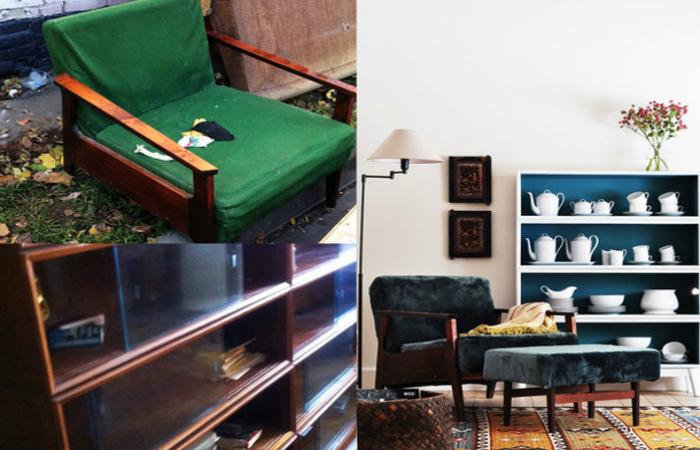 Вдохновляющие примеры переделки старой советской мебели