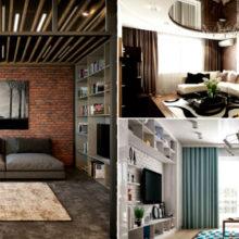 Подборка лучших идей дизайна гостиной, палочка-выручалочка для всех, кто планирует ремонт