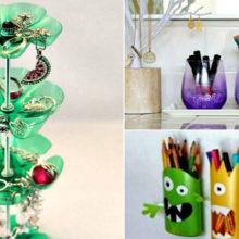 Практичные и интересные примеры вторичного использования обычных пластиковых бутылок