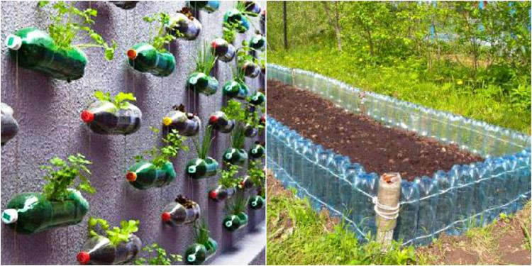 Идеи из пластиковых бутылок своими руками для дача