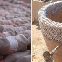 Прохладные и безопасные: в Алжире дома из пластиковых бутылок спасают жизни неимущим